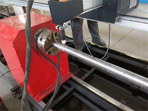 2017 Νέος φορητός τύπος Plasma Metal Pipe κόπτης μηχάνημα, CNC μεταλλικό σωλήνα κοπής μηχάνημα