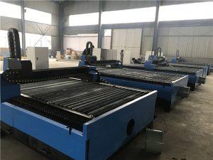 china πλάκες μεταλλικών πλακών cnc κοπής πλάσματος / μηχανή κοπής πλάσματος 1325 για ανοξείδωτο χάλυβα