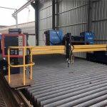 αυτοματοποιημένη μηχανή κοπής πλάσματος cnc διπλής οδήγησης 4 μέτρα μήκος 15 μέτρων