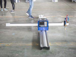 Νέα τεχνολογία φορητό τύπο cnc πλάσματος μηχάνημα κοπής τιμή μηχανής μικρών μηχανημάτων κατασκευής επιχειρήσεων