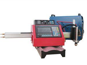 Φορητό CNC Plasma Cutting Machine και αυτόματη κοπή αερίου μηχάνημα με χάλυβα