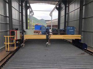 Ακριβής μηχανή κοπής πλάσματος CNC με ακρίβεια 13000 mm με σερβοκινητήρα
