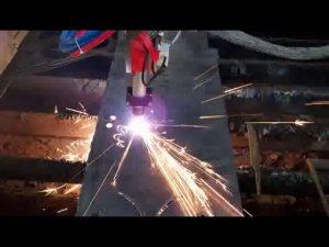 χαμηλού κόστους cnc πλάσματος κοπής μηχανή σιδήρου ράβδος κοπής μηχανή κοπής κύκλο μηχανή